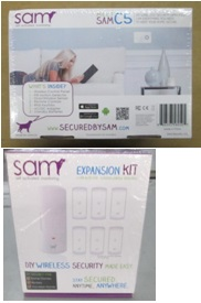 Sam Security System & Accessory Kit returned from stores - 2 pallets, 1394 lbs ( 804 units)