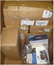 Mixed Electronics & Accessories - 3 Pallets, 754 lbs ( 115 units )