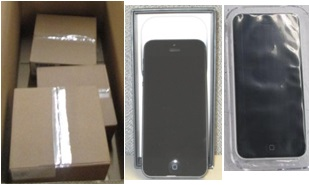 Tested Functional Defect VZ Iphone  5, 5S, 5C - 1 Pallet, 60 lbs ( 18 units )