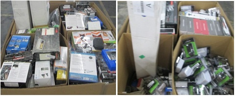 Mixed Electronics & Accessories - 3 Pallets, 988 lbs ( 805 units )