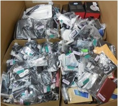 Customer Returns Service Trade - Ins - 1 Pallet, 502 lbs -  (818  Units)