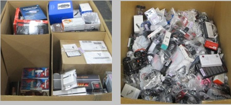 Customer Returns Service Trade - Ins - 2 Pallets, 678 lbs -  (2552  Units)