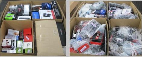 Customer Returns Service Trade - Ins - 2 Pallets, 858 lbs -  (2630  Units)