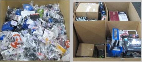 Customer Returns Service Trade - Ins - 2 Pallets, 666 lbs -  (2203  Units)