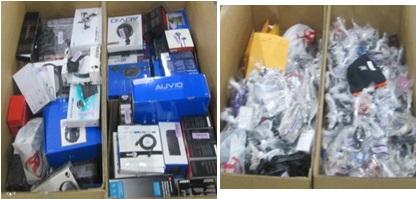 Customer Returns Service Trade - Ins - 2 Pallets, 594 lbs -  (2427  Units)