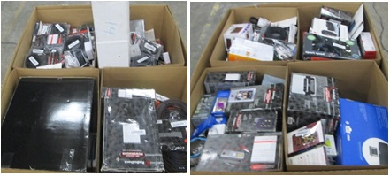 Mixed Electronics & Accessories - 4 Pallets, 1876 lbs ( 3932 units )