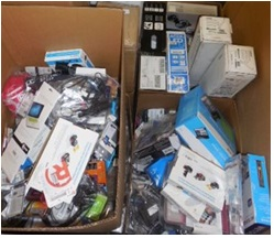 Mixed Electronics & Accessories - 1 Pallet, 337 lbs ( 474 units )