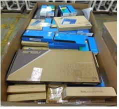 Laptops / Printers - 1 Pallet, 259 lbs - 62  units