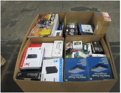 Mixed Electronics & Accessories - 3 Pallets, 1278 LBS - 1093 Units