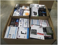 Mixed Electronics & Accessories - 2 Pallets 566 LBS - 542 Units