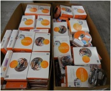 ATT Returns - 1 Pallets, 544 lbs - 355  Units