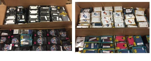 Sprint Accessories NEW - 3 Pallet, 1194 lbs (2665 units )