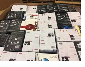 Mixed Electronics /Accessories/ Cables - 2 Pallet, 746 lbs (1325 units )