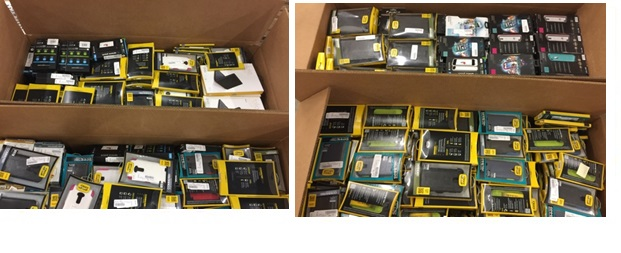Sprint Accessories NEW -  3 Pallet, 868 lbs (2260 units )